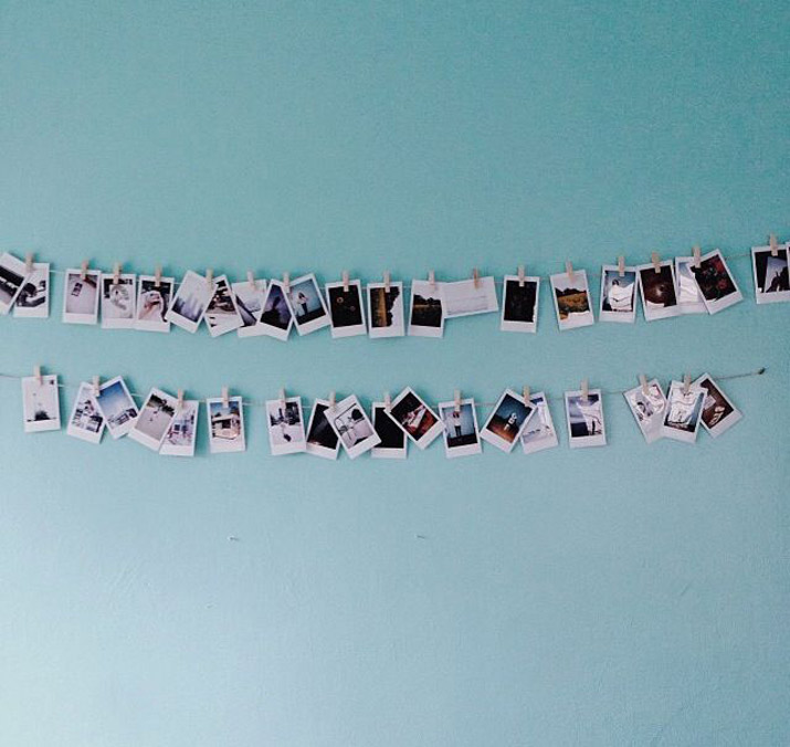 decora pared con fotos tous baby