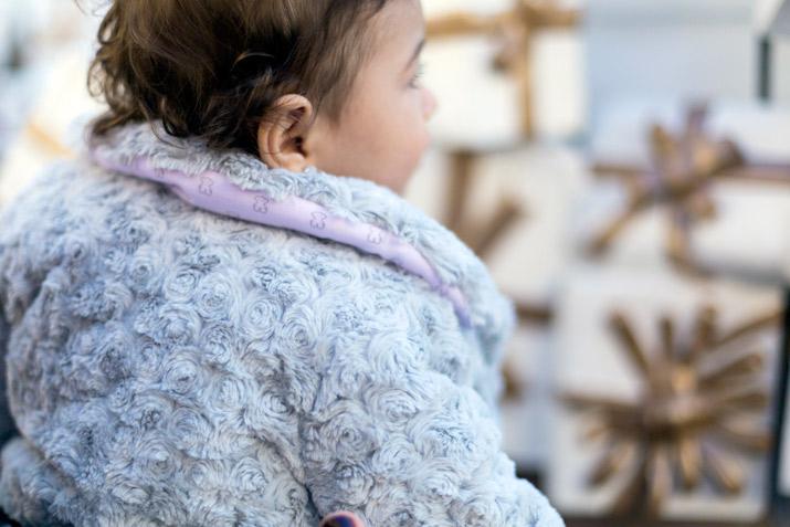 Chloé descubre la Navidad con TOUS Baby - Bárbara Crespo