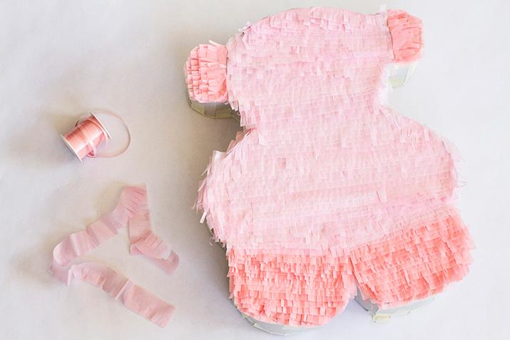 DIY piñata cartón TOUS Baby